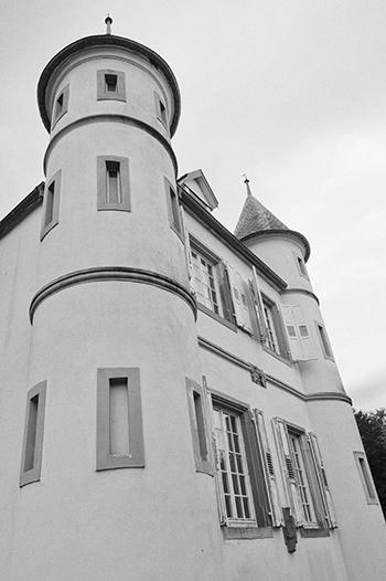 Tours Du Château De Werde Photo Noir Et Blanc Blog